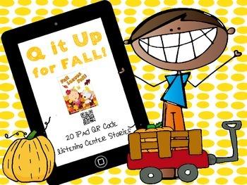 Q it Up for Fall! {20 iPad  QR Code Listening Center Books}