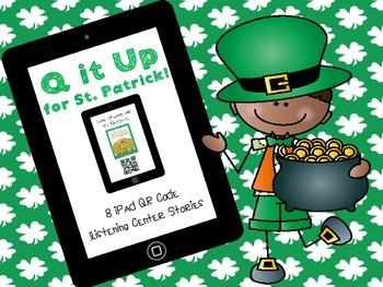 Q it Up for St. Patrick! {8 QR Code Listening Center Books}