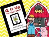 Q it Up for the Farm! {18 iPad QR Code Listening Center Books}