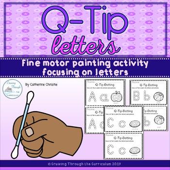 Q-tip Letters