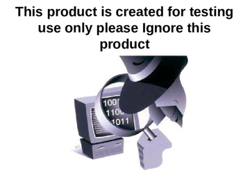 QA Testing Created product for test purpose 27
