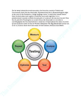 QA Testing: Sample product for test