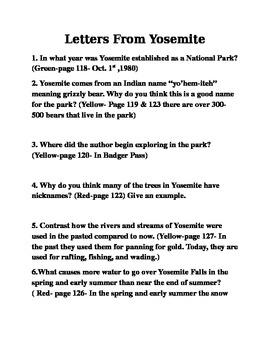 QAR Comprehension Questions Reading Street 4th Grade Lette