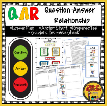 QAR Lesson and Anchor Chart by Penny Lund   Teachers Pay ...