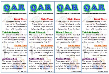 QAR Poster Set with Bookmarks
