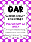 QAR Owl Theme Posters {Question Answer Relationships}