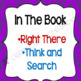 QAR- Question Answer Relationship {17 anchor charts, bookmarks, question sort}