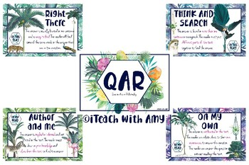 QAR Question Answer Relationship Posters