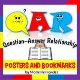 QAR Reading Strategy Posters and Bookmarks