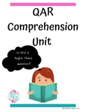 QAR Comprehension Unit Lesson Plan Bundle