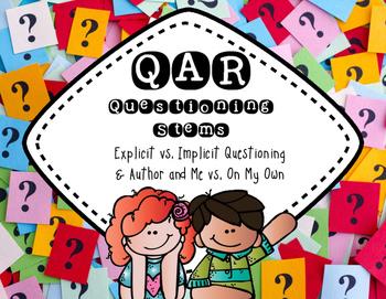 QAR Questioning Stem [Posters]