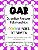 QAR Reading Posters {Question Answer Relationships}