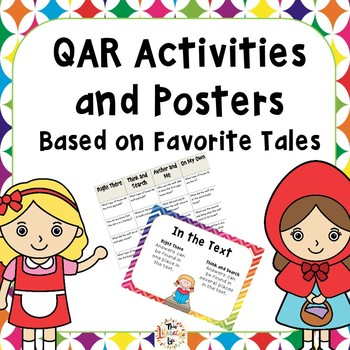 QAR Posters and Activities Using Fairy Tales Distance Learning