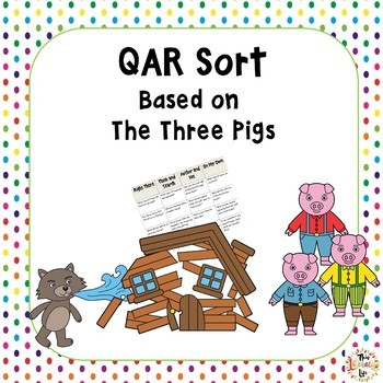 QAR Sort Based on The Three Pigs