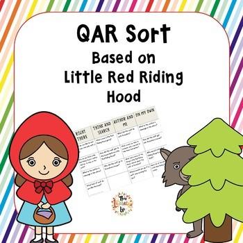 QAR Sort Based on Little Red Riding Hood