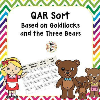 QAR Sort based on Goldilocks and the Three Bears