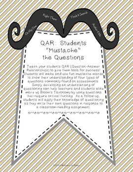 "QAR: Students ""Mustache"" the Questions"