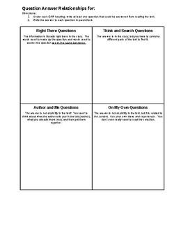 QAR Worksheet