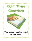 QAR posters  - Right There, Think and Search, Author and Me, On my Own