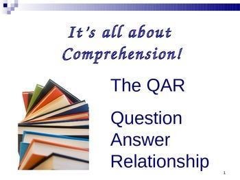 QAR using nonfiction