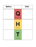QHT Vocabulary, Concept, or Skill Sort Worksheet (Springboard ELA Curriculum)
