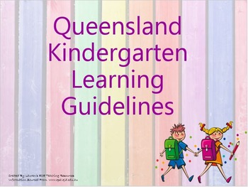 QKLG 'Learning and Development Areas' Posters
