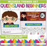 Queensland Beginners Handwriting Template, Harry Potter Theme, Qld