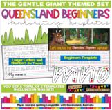 Queensland Beginners Handwriting Template, The Gruffalo Theme, Qld