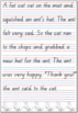 QLD Beginners Font Handwriting Practice Sheets FREEBIE