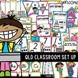 QLD Classroom Set Up Kit - Printable Classroom Decor
