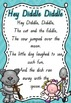 QLD Font Nursery Rhymes Posters