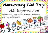 QLD Handwriting Phonics Wall Posters