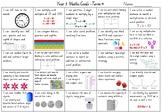QLD Year 3 Maths Goals - Term 4