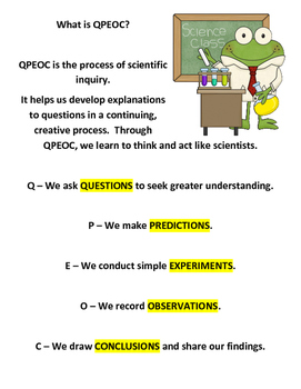 QPEOC Journals - Creating Elementary Scientists