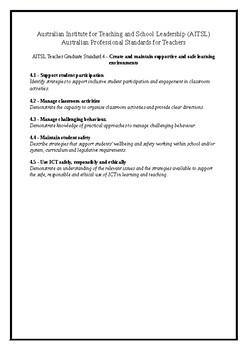QPERF Artefact Checklist