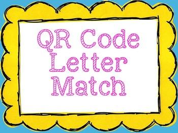 QR Code ABC Match Puzzles