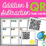 QR Addition and Subtraction Task Cards