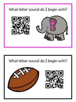 QR Alphabet Beginning Sounds