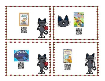 QR Books for Daily 5 time