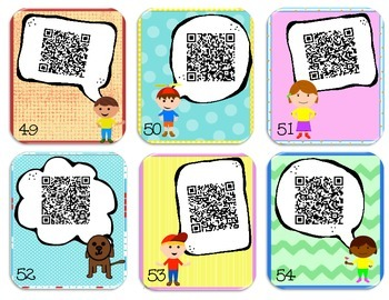 QR CODE CONVERSATION STARTERS
