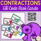 Contractions Activities Task Cards:QR Code