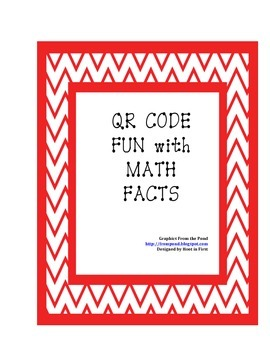 QR CODE FUN with Math Facts