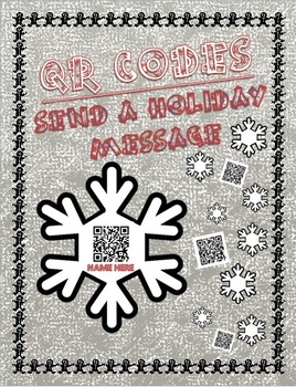 QR CODE HOLIDAY MESSAGES