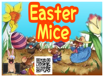 QR CODE + Response Sheets: Easter Mice