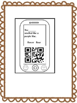 QR CODES AND HOMPHONES SAY WHAT!