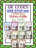 QR CODES MEGA BUNDLE for 248 Stories in your Listening Stations: ALL YEAR