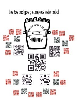 QR CODES MR. ROBOT THE GALLON EXPERT(SPANISH VERSION)