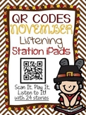 QR CODES for 24 Stories in your Listening Stations: NOVEMBER