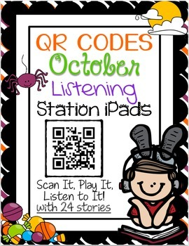 QR CODES for 24 Stories in your Listening Stations: OCTOBER