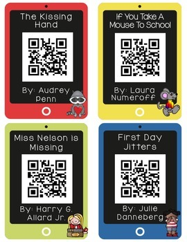 QR CODES for 32 Stories in your Listening Stations: AUGUST/SEPTEMBER